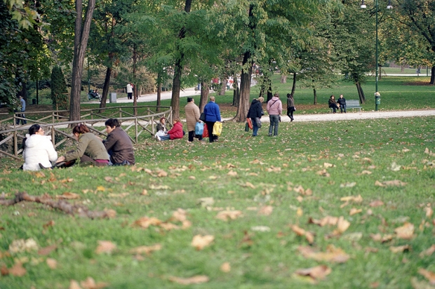 Milano, Parco Sempione, 2007